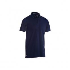 Koszulka polo do golfa 500 męska. Niebieskie koszulki polo męskie INESIS, z bawełny. Za 39.99 zł.