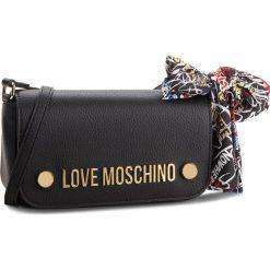 Torebka LOVE MOSCHINO - JC4126PP16LV0000 Nero. Czarne listonoszki damskie Love Moschino, ze skóry ekologicznej. W wyprzedaży za 459.00 zł.
