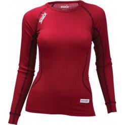 Swix Koszulka Funkcyjna Damska Racex Czerwony L. Czerwone koszulki sportowe damskie Swix, z długim rękawem. Za 149.00 zł.