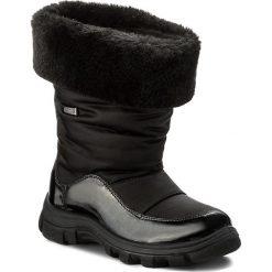 Śniegowce NATURINO - Volga 0013001240.01.9101 Nero F. Do Nero S. Śniegowce dziewczęce Naturino, z materiału. W wyprzedaży za 269.00 zł.