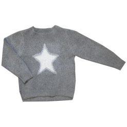 Carodel Sweter Dziewczęcy, Z Gwiazdą 104 Szary. Swetry dla dziewczynek marki bonprix. Za 55.00 zł.