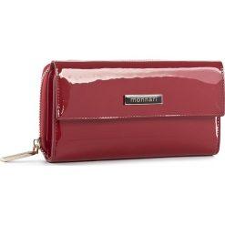 Duży Portfel Damski MONNARI - PUR1021-005 Red. Czerwone portfele damskie Monnari, z lakierowanej skóry. W wyprzedaży za 149.00 zł.