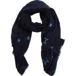 Szal TOMMY HILFIGER - Tommy Star Sequins AW0AW05920  413. Niebieskie szaliki i chusty damskie Twinset, z bawełny. Za 279.00 zł.