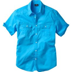 Koszula z krótkim rękawem bonprix turkusowy. Koszule męskie marki Giacomo Conti. Za 54.99 zł.