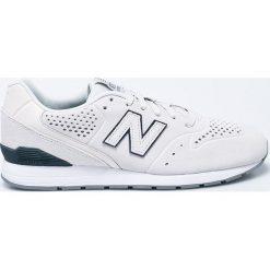 New Balance - Buty. Szare buty sportowe męskie New Balance, z gumy. W wyprzedaży za 199.90 zł.