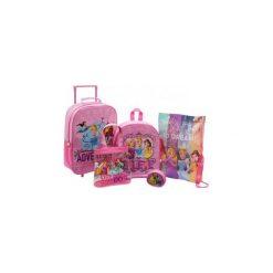 Disney Princess Księżniczki Walizka Plecak Worek. Różowe torby i plecaki dziecięce Świat Bajek. Za 129.90 zł.