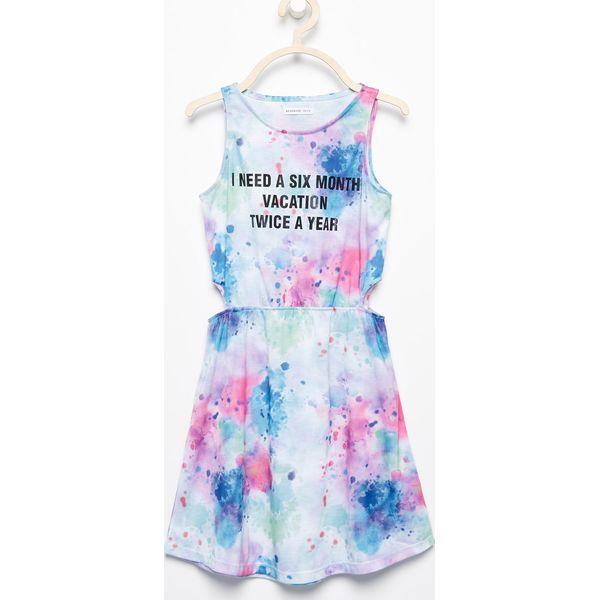 f0036ba878 Sukienka z napisem - Biały - Sukienki dla dziewczynek marki Reserved ...