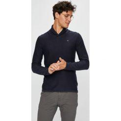 Guess Jeans - Sweter. Szare swetry przez głowę męskie Guess Jeans, z bawełny. Za 359.90 zł.