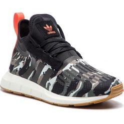 Buty adidas - Swift Run Barrier B42234 Tracar/Cblack/Orange. Czarne buty sportowe męskie Adidas, z materiału. W wyprzedaży za 279.00 zł.