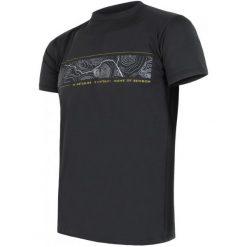 Sensor Koszulka Coolmax Fresh Pt Gps Black  Xl. Czarne koszulki sportowe męskie Sensor, z krótkim rękawem. W wyprzedaży za 120.00 zł.