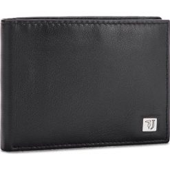 Duży Portfel Męski TRUSSARDI JEANS - Wallet Credit Card Coin Pocket Smooth 71W00004 K299. Czarne portfele męskie TRUSSARDI JEANS, z jeansu. W wyprzedaży za 239.00 zł.