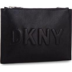 Torebka DKNY - Mott Pouch R822W588  Black/Silver BSV. Czarne listonoszki damskie DKNY, ze skóry ekologicznej. Za 289.00 zł.