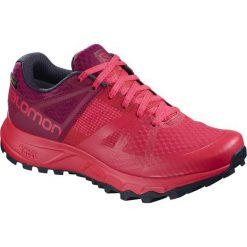Salomon Buty Damskie Trailster Gtx W Hibiscus/Beet Red/Graphite 39.3. Czerwone obuwie sportowe damskie Salomon, z gore-texu. Za 479.00 zł.