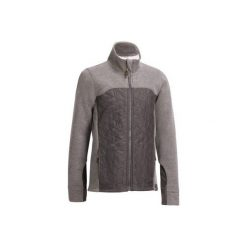 Bluza SW500 szara. Szare bluzy dla dziewczynek FOUGANZA. Za 79.99 zł.