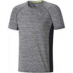 Mizuno Koszulka Do Biegania Alpha Tee/Black Melange M. Czarne koszulki sportowe męskie Mizuno. W wyprzedaży za 109.00 zł.