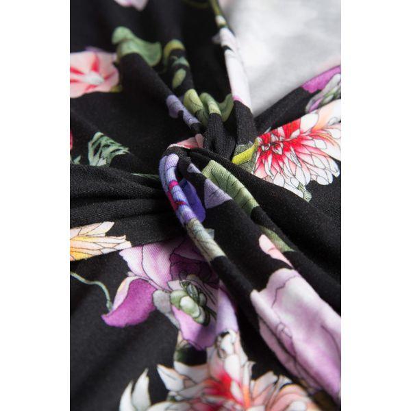 50b60f9683 Jerseyowa sukienka w kwiaty - Sukienki damskie marki Orsay
