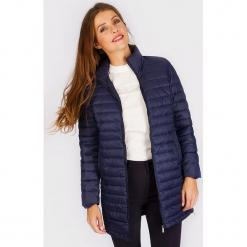 """Płaszcz zimowy """"Douziplong"""" w kolorze granatowym. Niebieskie płaszcze damskie Scottage, na zimę, klasyczne. W wyprzedaży za 204.95 zł."""