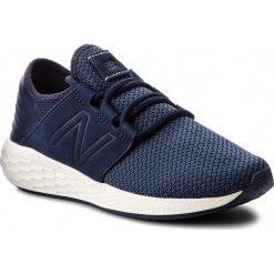 Buty NEW BALANCE - WCRUZNN2  Granatowy. Niebieskie obuwie sportowe damskie New Balance, z materiału. W wyprzedaży za 269.00 zł.