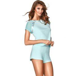 """Piżama """"Simi III"""" w kolorze niebieskim. Niebieskie piżamy damskie Kinga. W wyprzedaży za 129.95 zł."""