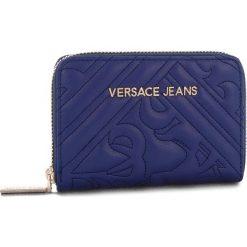Duży Portfel Damski VERSACE JEANS - E3VSBPZ2 70792 239. Niebieskie portfele damskie Versace Jeans, z jeansu. Za 349.00 zł.