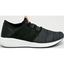 New Balance - Buty MCRUZKB2. Czarne buty sportowe męskie New Balance, z gumy. W wyprzedaży za 329.90 zł.