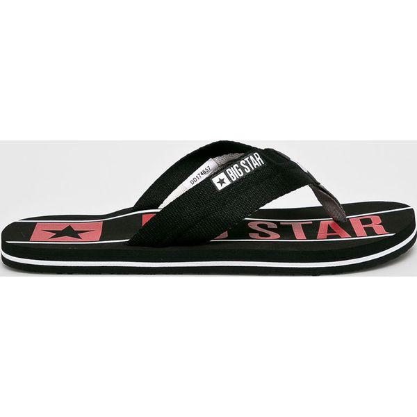ceb24fda43e6e Big Star - Japonki - Klapki męskie marki Big Star. W wyprzedaży za ...