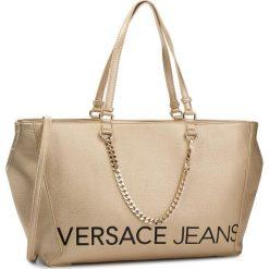 Torebka VERSACE JEANS - E1VSBBB3 70709 901. Żółte torebki do ręki damskie Versace Jeans, z jeansu. Za 799.00 zł.