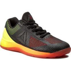 Buty Reebok - Crossfit Nano 7.0 B BD2830 Vitamic C/Yellow/Blk/Lead. Czarne obuwie sportowe damskie Reebok, z materiału. W wyprzedaży za 369.00 zł.