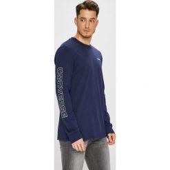 Converse - Longsleeve. Szare bluzki z długim rękawem męskie Converse, z bawełny, z okrągłym kołnierzem. W wyprzedaży za 119.90 zł.