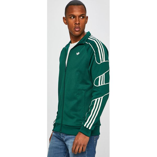 adidas originals bluza zielona