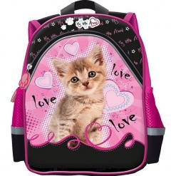 St. Majewski Plecak dziecięcy My Little Friend Cat czarno-różowy. Czarne torby i plecaki dziecięce St-Majewski. Za 42.02 zł.