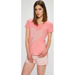 Henderson Ladies - Piżama. Różowe piżamy damskie Henderson Ladies, z nadrukiem, z bawełny. W wyprzedaży za 59.90 zł.