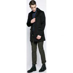 Trussardi Jeans - Koszula. Szare koszule męskie TRUSSARDI JEANS, z bawełny, z klasycznym kołnierzykiem, z długim rękawem. W wyprzedaży za 329.90 zł.