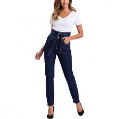 """Dżinsy """"Joy"""" - Regular fit - w kolorze granatowym. Niebieskie jeansy damskie Cross Jeans. W wyprzedaży za 127.95 zł."""