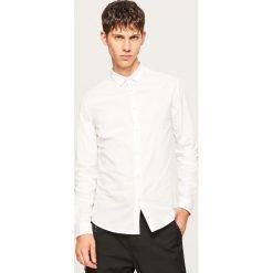 Koszula slim fit w paski - Biały. Koszule męskie marki Giacomo Conti. W wyprzedaży za 39.99 zł.