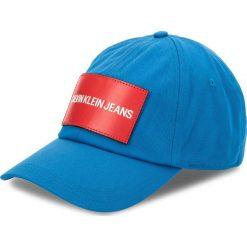 Czapka z daszkiem CALVIN KLEIN JEANS - J K40K400258 450. Niebieskie czapki i kapelusze męskie Calvin Klein Jeans. Za 159.00 zł.
