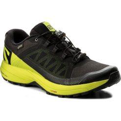 Buty SALOMON - Xa Elevate Gtx GORE-TEX 401418 31 V0 Black/Lime Green/Black. Czarne buty sportowe męskie Salomon, z gore-texu. W wyprzedaży za 429.00 zł.
