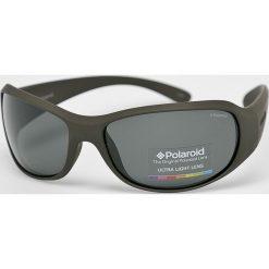 Polaroid - Okulary P7228. Brązowe okulary przeciwsłoneczne męskie Polaroid, z materiału. Za 339.90 zł.