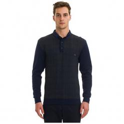 Galvanni Koszulka Polo Męska Fictile L, Ciemnoniebieski. Czarne koszulki polo męskie Galvanni, w kratkę, z materiału. W wyprzedaży za 189.00 zł.
