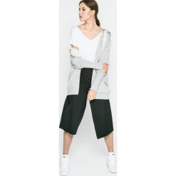 Answear - Spodnie UR Your Only Limit. Szare spodnie materiałowe damskie ANSWEAR, z bawełny. W wyprzedaży za 79.90 zł.