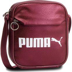 Saszetka PUMA - Campus Portable 075004 05 Pomegranate Metallic. Czerwone saszetki męskie Puma, ze skóry ekologicznej, młodzieżowe. Za 99.00 zł.