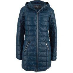 Płaszcz z lekkiego puchu bonprix ciemnoniebieski. Płaszcze damskie marki FOUGANZA. Za 239.99 zł.