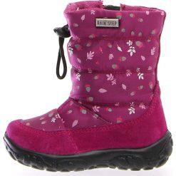 """Kozaki zimowe """"Pocks"""" w kolorze różowym. Buty zimowe dziewczęce Zimowe obuwie dla dzieci. W wyprzedaży za 172.95 zł."""