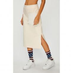Nike Sportswear - Spódnica. Szare spódnice damskie Nike Sportswear, z bawełny. W wyprzedaży za 229.90 zł.