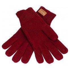 Pepe Jeans Rękawiczki Damskie Elissa Burgund. Czerwone rękawiczki damskie Pepe Jeans, z jeansu. Za 123.00 zł.