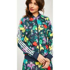 Adidas Originals - Bluza. Szare bluzy damskie adidas Originals, z materiału. Za 279.90 zł.