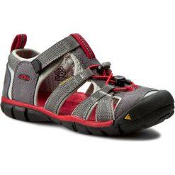 Sandały KEEN - Seacamp II Cnx 1014126 Magnet/Racing Red. Sandały chłopięce Keen, z materiału. W wyprzedaży za 189.00 zł.