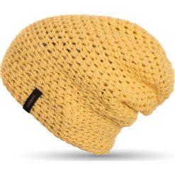 Woox Wiosenna Czapka Krasnal Unisex |Handmade| Żółta Frigus Beanie Vanile -          -          - 8595564774853. Czapki i kapelusze męskie Woox. Za 90.21 zł.