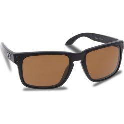 Okulary przeciwsłoneczne OAKLEY - Holbrook OO9102-D755 Matte Black/Prizm Tungsten Polarized. Czarne okulary przeciwsłoneczne męskie Oakley, z tworzywa sztucznego. W wyprzedaży za 649.00 zł.