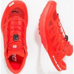Salomon S/LAB SENSE 6 Obuwie do biegania Szlak racing red/white. Buty sportowe męskie Salomon, z gumy. Za 739.00 zł.